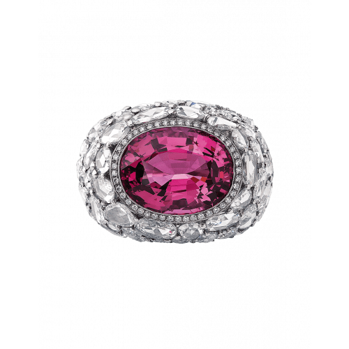 Burmese Spinel Cocktail Ring