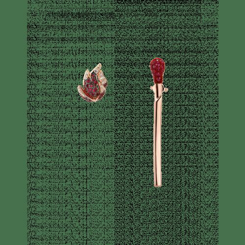 Ruby Match Earrings