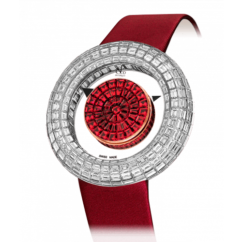 Brilliant Mystery Baguette Rubies (44MM)