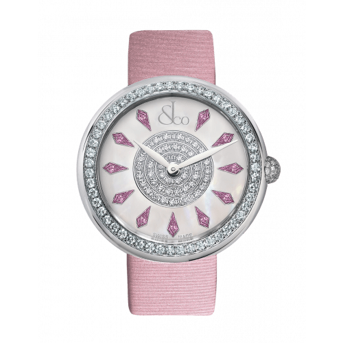 Brilliant One Row Pink Sapphires 38mm