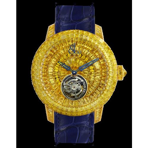 Caviar Tourbillon Baguette Yellow Diamonds