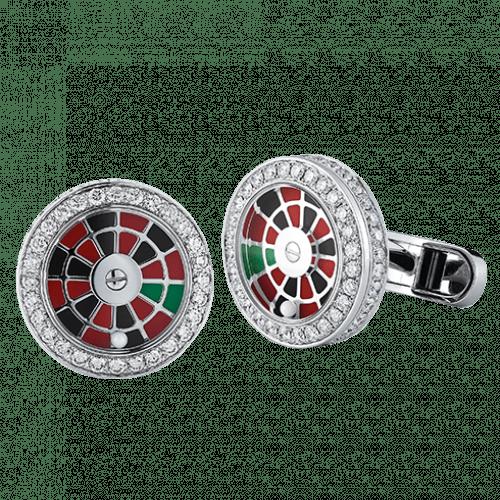 Diamond Roulette Cufflinks