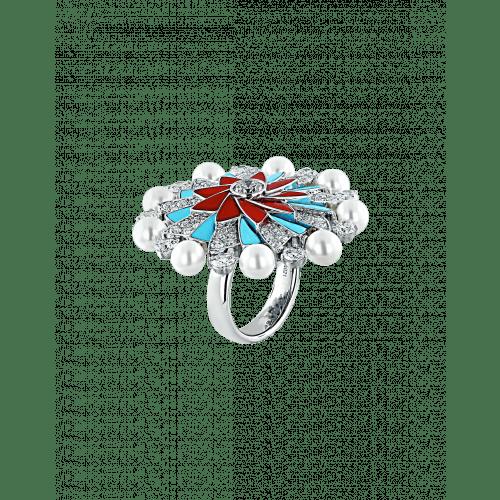 Pearls Infinia Rings