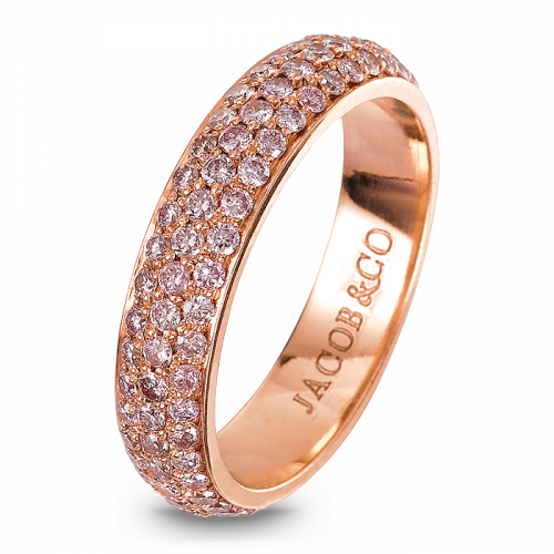 Melange Rose Gold Band