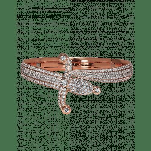Rose Gold Espada Diamond Choker