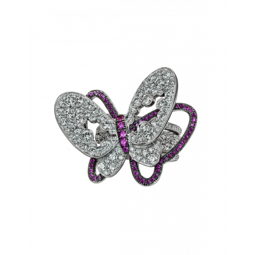 Papillon Diamonds Butterfly Ring