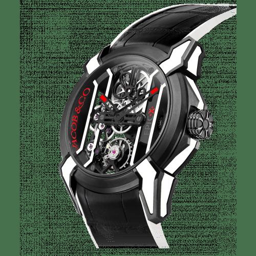 Epic X Racing Black Titanium (White Neoralithe Inserts)