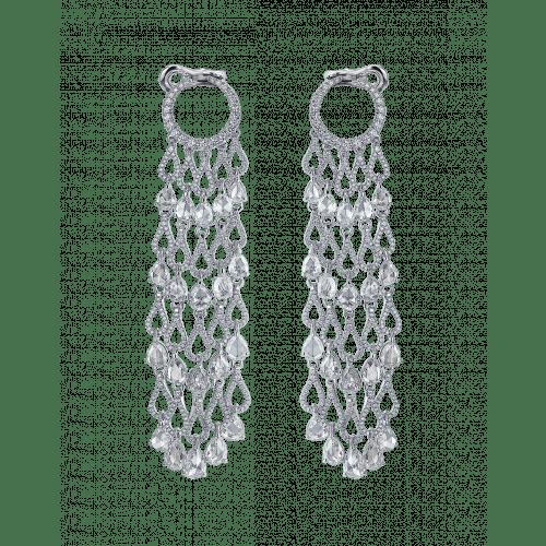 Talia Diamond Chandelier Earrings