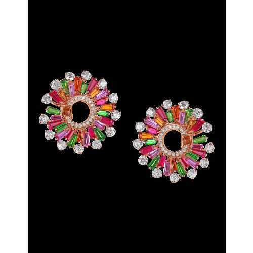 Multi-Color Infinia Earrings