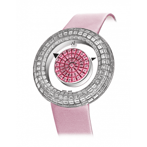 Brilliant Mystery Baguette Pink Sapphires (38MM)