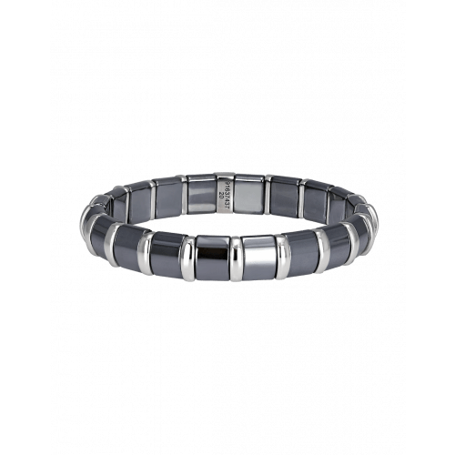 Hematite Bracelet 20 Stainless Steel Bars