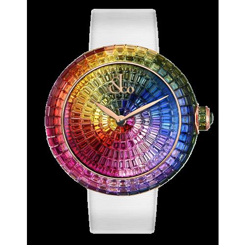 Brilliant Full Baguette Rainbow (Rose Gold, 7 Jewel)