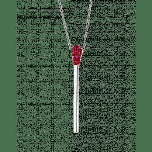 Ruby Match Necklace