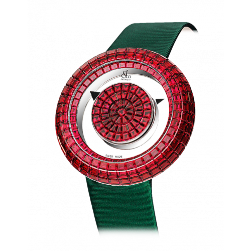 Brilliant Mystery Baguette All Rubies (38MM)