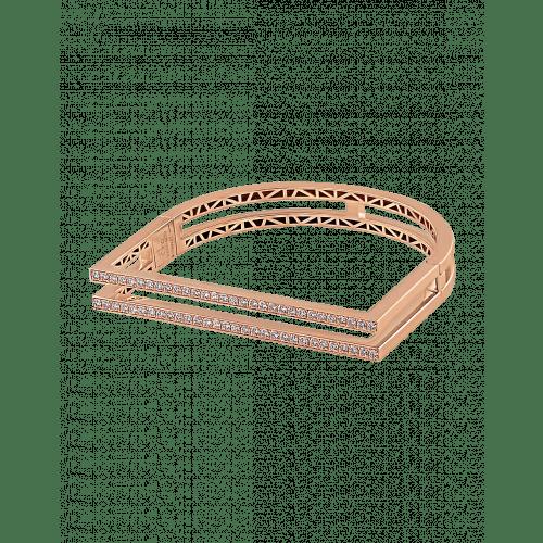 Nima's Classic Bracelet Rose Gold Full Pave