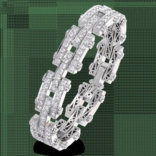 Triple Interlink Diamond