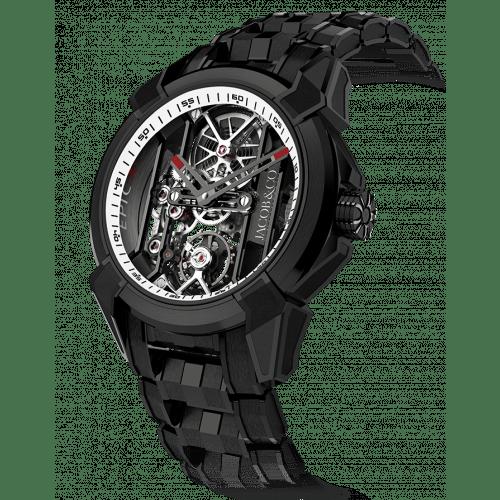 Epic X Black Titanium Bracelet (White Neoralithe Inner Ring)