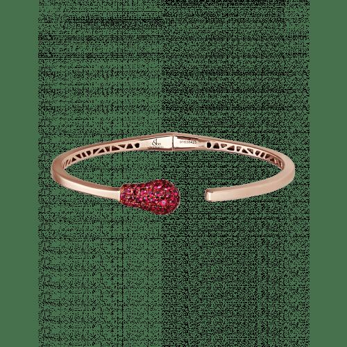 Ruby Match Cuff Bracelet