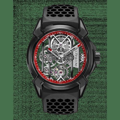 Epic X Black Titanium (Red Neoralithe Inner Ring)