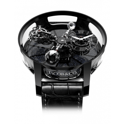 Astronomia Tourbillon Black Ceramic Black Movement
