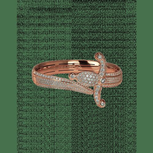 Rose Gold Espada Diamond Bracelet