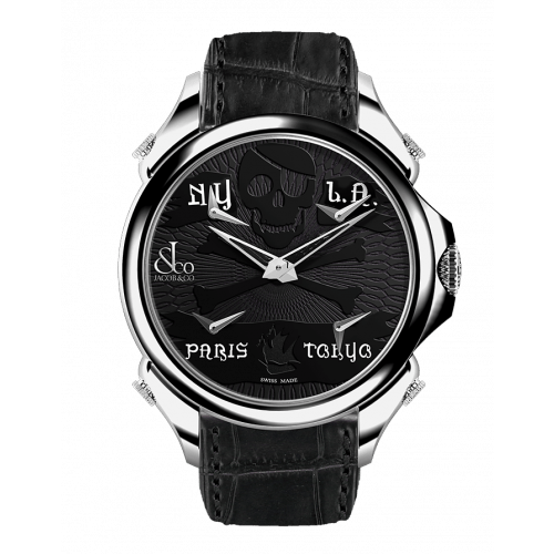 Palatial Five Time Zone Pirate Steel