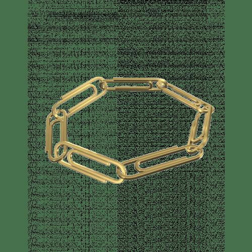 Plain Paper Clip Bracelet