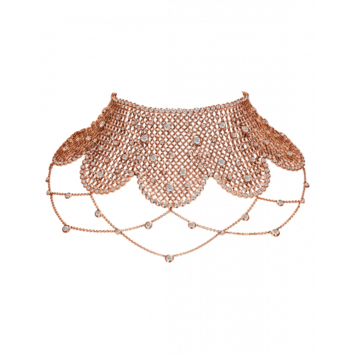 Rare Touch Rose Gold Choker