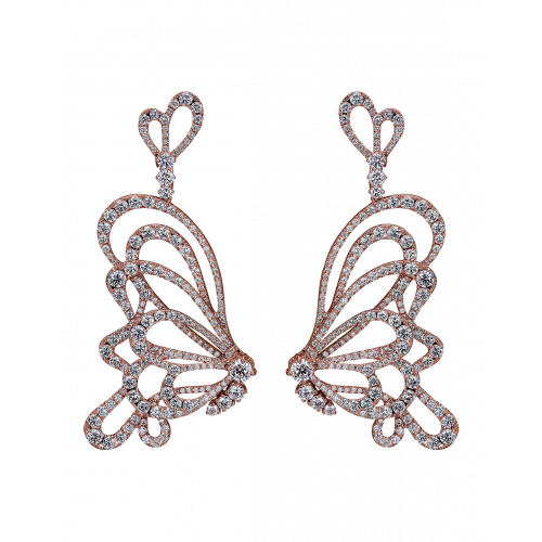 Papillon Diamonds Earrings
