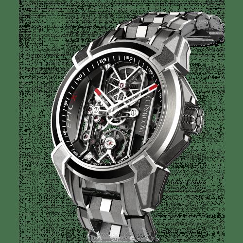 Epic X Titanium Bracelet (Black Neoralithe Inner Ring)