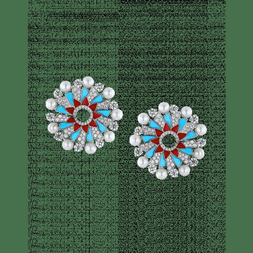 Pearls Infinia Earrings