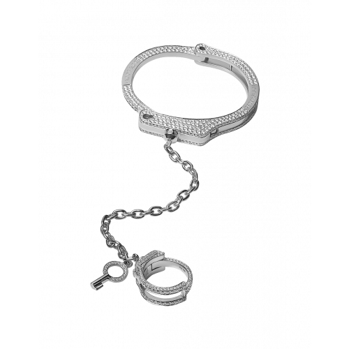 Key Cuff Full Pave Wristlet