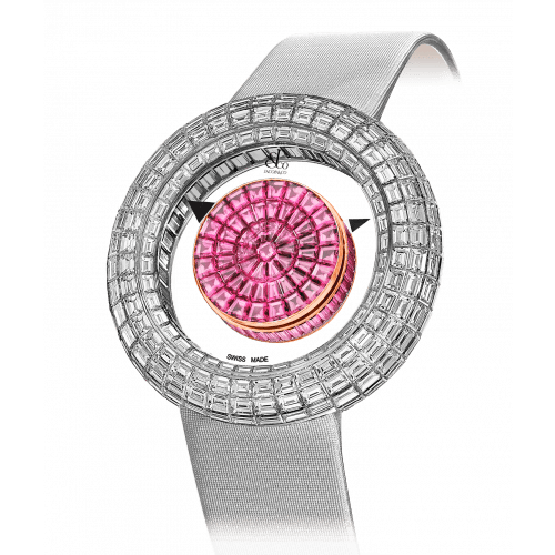 Brilliant Mystery Baguette Pink Sapphires (44MM)