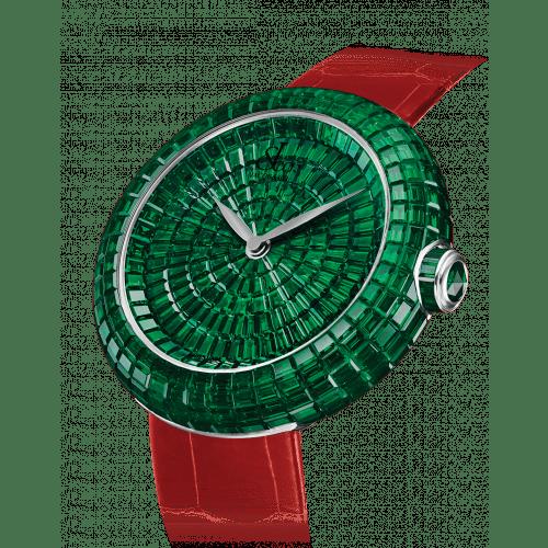 Brilliant Full Baguette Emeralds