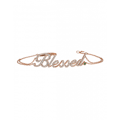 Rose Gold Blessed Bracelet