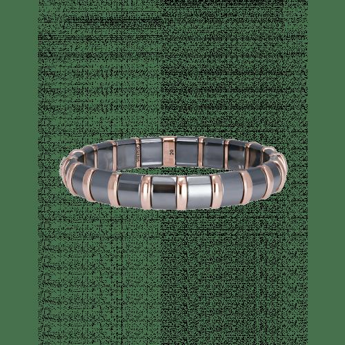 Hematite Bracelet 20 Rose Bars