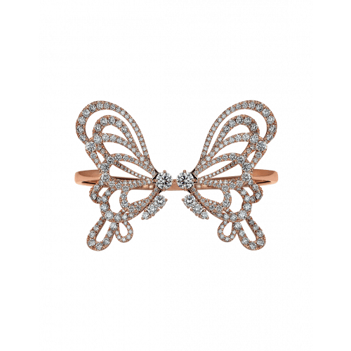 Papillon Diamonds Bangle