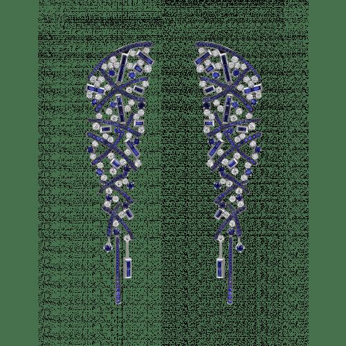 Sapphire Carnivale Earrings