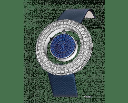Brilliant Mystery Baguette Blue Sapphires (38MM)