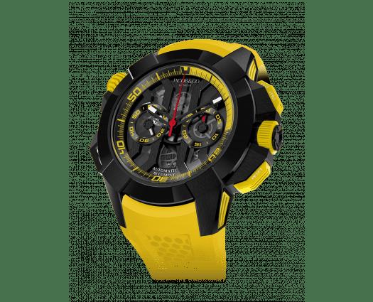 Epic X Chrono Black Titanium (Yellow Band)