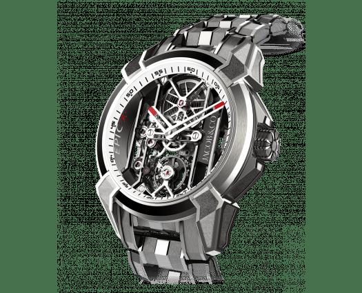 Epic X Titanium Bracelet (White Neoralithe Inner Ring)