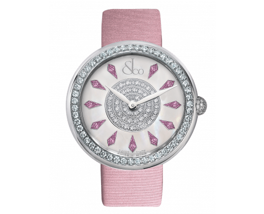 Brilliant One Row Pink Sapphires 44mm