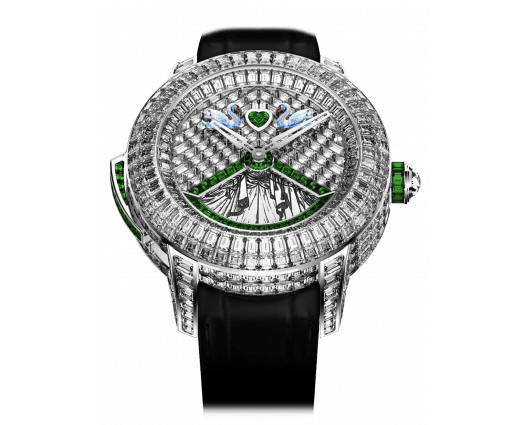 Rasputin Tourbillon Baguette Emeralds
