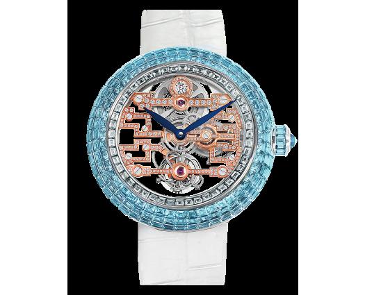 Brilliant Art Deco Icy Blue Sapphires