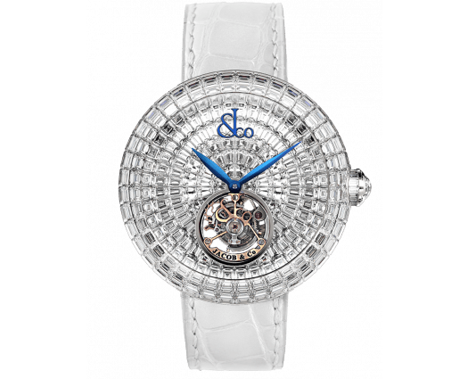 Brilliant Flying Tourbillon White Diamonds