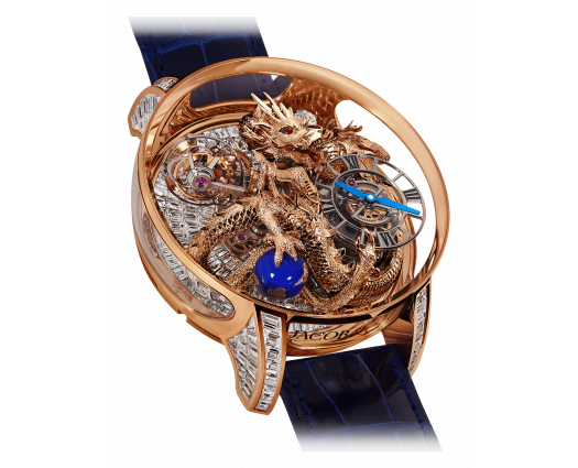 Astronomia Art Dragon Rose Gold Baguette
