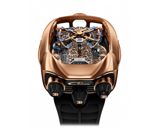 Bugatti Chiron Tourbillon Rose Gold