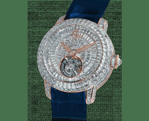 Caviar Tourbillon Rose Gold