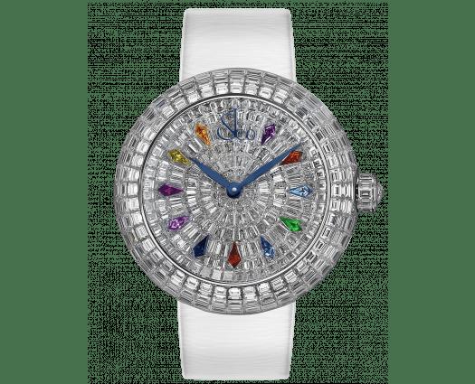 Brilliant Full Baguette Diamonds & Kite Sapphires