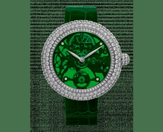 Brilliant Skeleton Northern Lights Stainless Steel Green